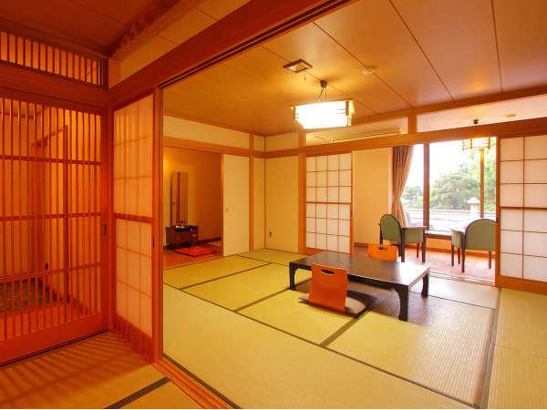 ペットと泊まれる和室【10畳+4畳】客室一例