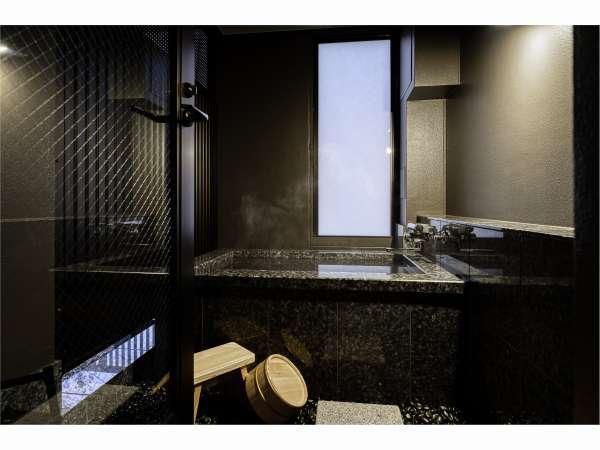 Corner Twin Room個室露天風呂よりスカイツリーが望めます