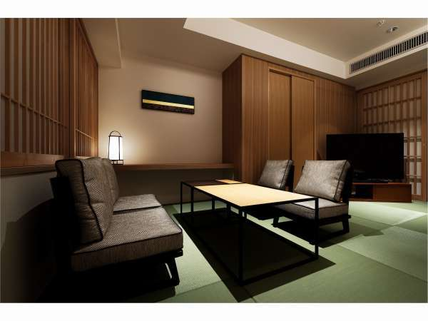 Corner Suite Room最上階の個室露天風呂が自慢のスイートルーム