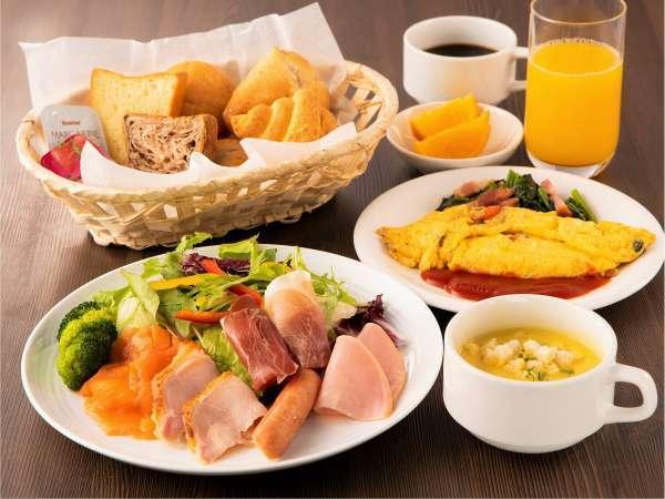 小滝野自慢の朝食