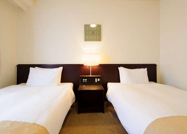 ◆スーペリアツイン◆27平米【ベッド幅123cm】
