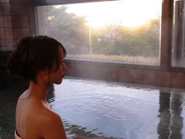 【展望風呂】医薬品:恵那温浴剤を使ったラジウム泉