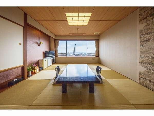 【2階海側のお部屋】 海側和室10畳