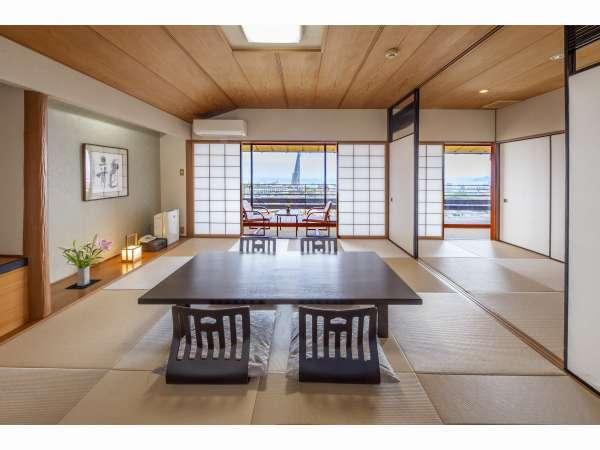 【3階海側のお部屋】 海側和室10畳+4畳+広縁