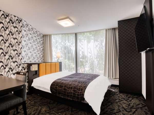 シングル新客室(※禁煙室のみの設定) 広さ11.4~16.3㎡/ベッド幅140㎝