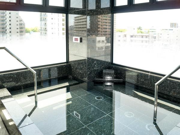 ◆最上階◆大浴場(男性のみ)◆  大浴場のご案内です。入浴可能時間:16:00~23:00 ※ただし、男性のみ