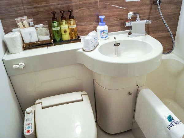 ◆バスルーム◆バスルームの写真です。※写真はシングルルームです。