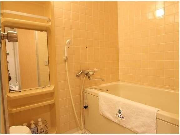 最上階の10Fシティービュースイート!バスルームのご紹介です。