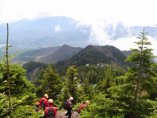 四阿山、山頂付近、標高2354m