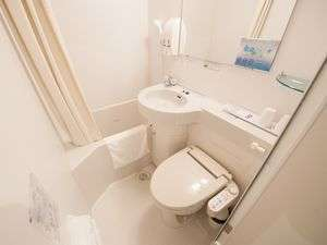 ☆ユニットバス☆お部屋のお水は全て健康イオン水!!とても口あたりの良いお水です♪
