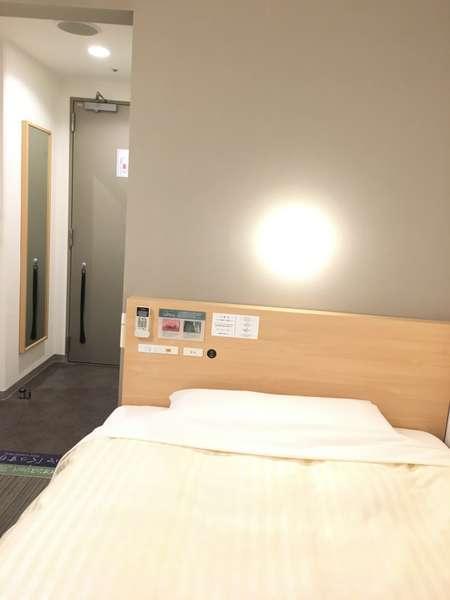 当館は全室ワイドベッド!(140cm~150cm)☆スーパーホテル東京・大塚
