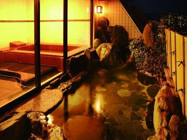 【特別室】専用の大理石内風呂、露天岩風呂付でゆったりと