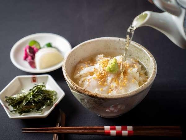 【燕三条ブランド】『マルナオ』の箸を使用◎『鯛茶漬け』★<TAKUMI会席>