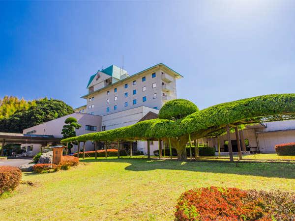 【ホテルグリーンヒル 鹿児島】露天風呂有・温泉は天然温泉100%掛け流し♪温泉リゾートです♪