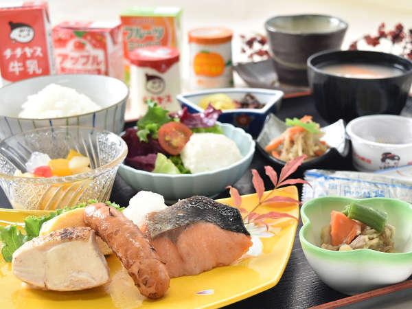 【無料朝食】和定食をご用意いたします♪※料理一例