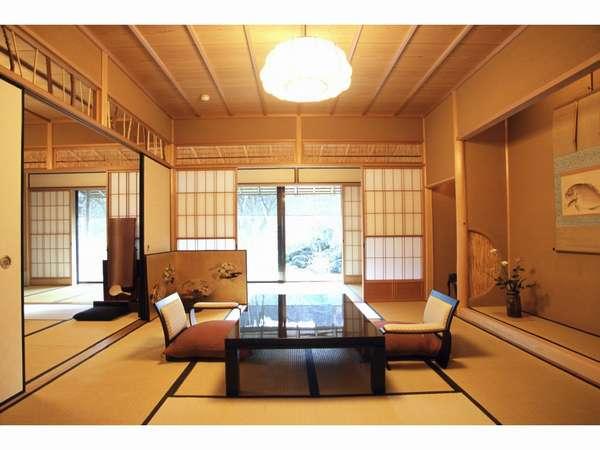 【Sタイプ/207号室】踏込み広緑も含め全てフラットな畳敷きも特徴的