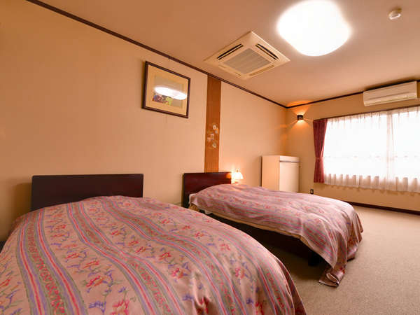 *和洋室/ふかふかなベットで快適な睡眠を。