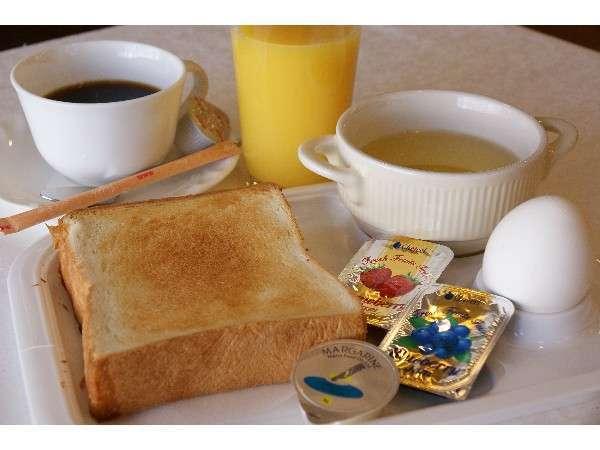 無料サービスの朝食一例(お好きなだけどうぞ)