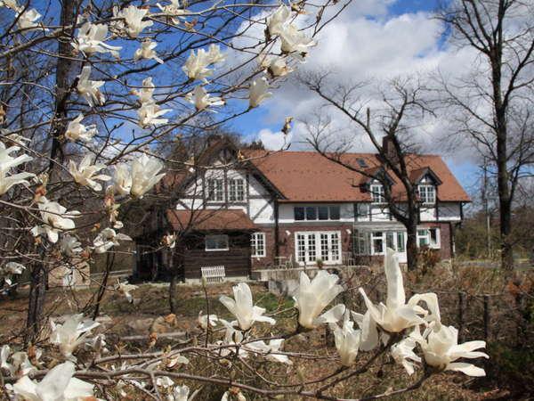 早春のブルックフィールドファーム