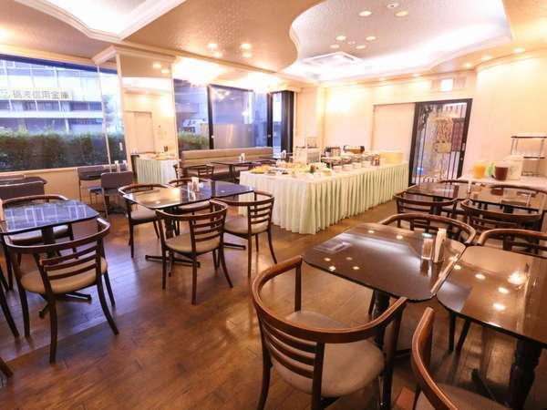 レストラン(カフェ・プロムナード)営業時間⇒6:45am~9:30am(L.O9:00)