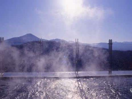 八ヶ岳連峰望む絶景露天風呂【びゅう湯】