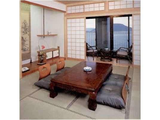 ◇海辺の客室◇唐津湾をごゆっくりご覧いただけます♪