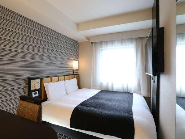 ■スーペリアダブルルーム(12㎡)ベッド幅160cm×1台