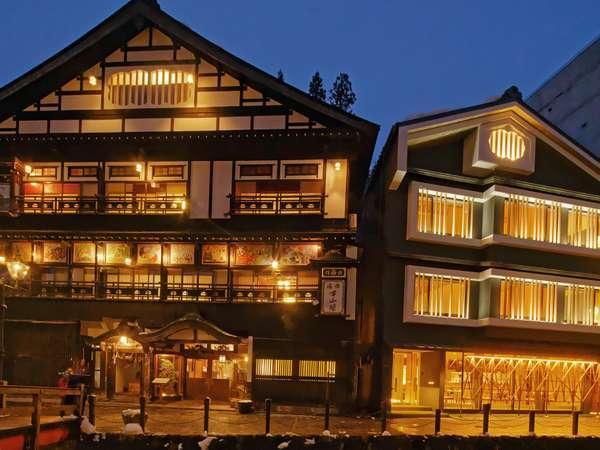 【古山閣 新館 クラノバ】2017年1月オープン。銀山温泉に出来た新しいスタイルの旅館。