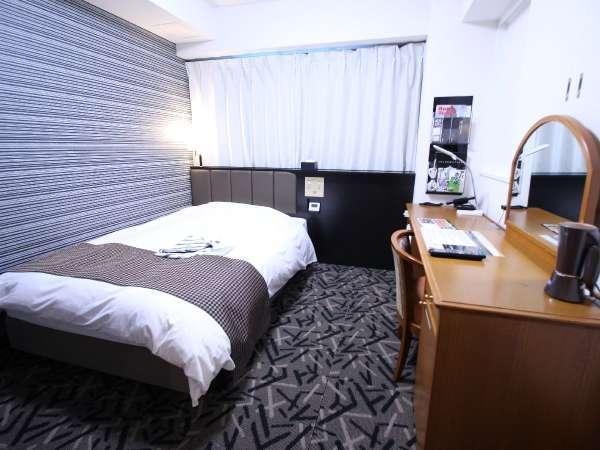 シングルルーム(広さ15.5㎡/ベッド幅120cm)