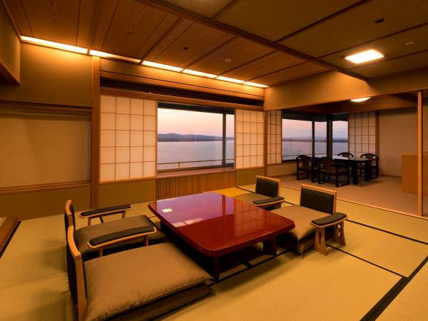 雪月花特選階の客室一例