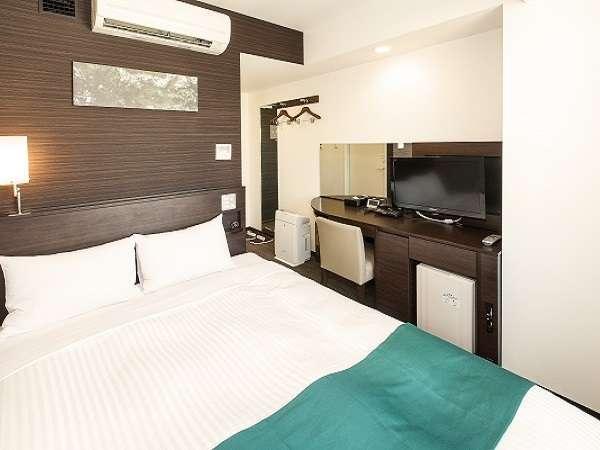 全室、世界水準のシーリ社製ベッドを採用。「Wi-Fi」完備!