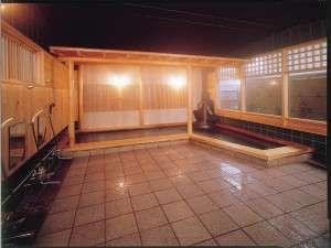 大浴場 雨の日もポカポカ☆