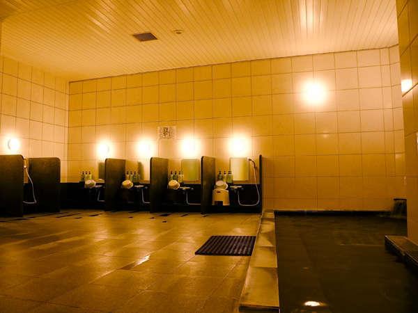 【スポーツセンター 1階】大浴場スペース