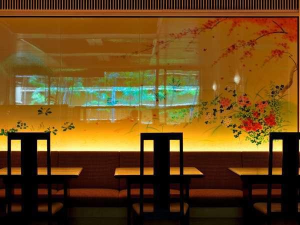 ◆『嵯峨四季草花図』桜花・五山の送り火・楓・水仙で四季を表現(写真はイメージです)