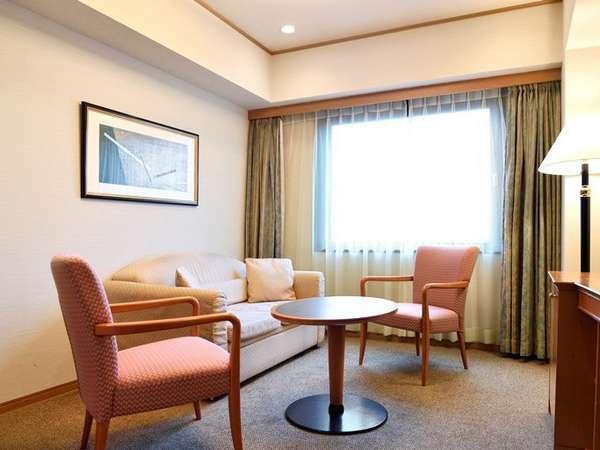 ◆【デラックスツイン】広さ:約34㎡ ベッド幅:110cm 寝室とリビングセパレート(写真はイメージです)