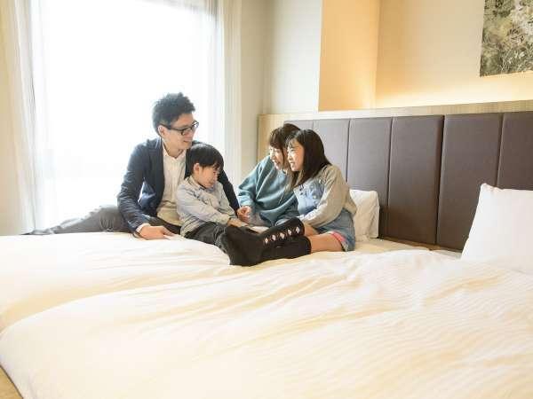 家族みんなで泊まれます!小学生以下の添寝OK!