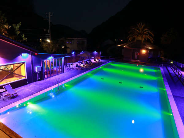 【AmisDroles-アミ・ドローラ-[LIBERTY RESORT]】2020年2月OPEN!伊豆で唯一の一年中遊べる温泉ナイトプール♪