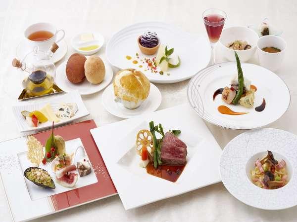 【ご夕食】シェフが丁寧に仕上げる季節ごとのフレンチディナー