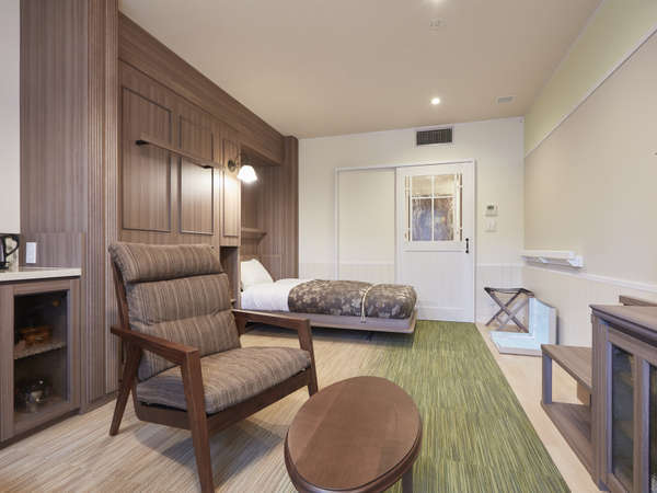 【客室】収納式ベッドでお部屋広々♪