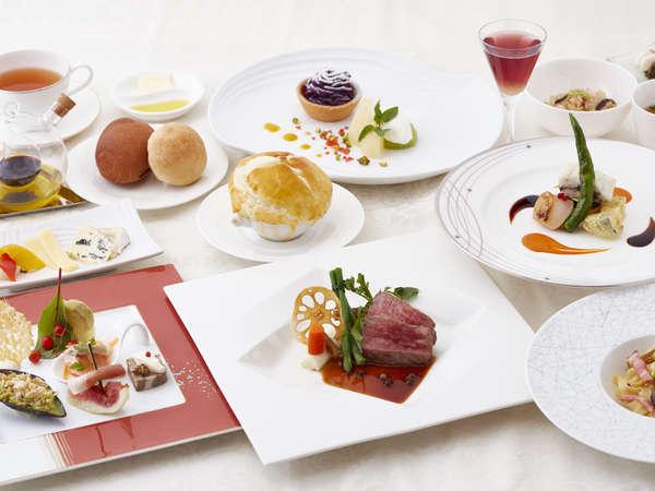 【ご夕食一例】シェフが丁寧に仕上げる季節ごとのフレンチディナー