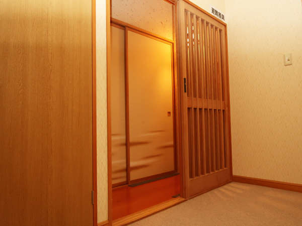 ◆館内(和室入口)◆
