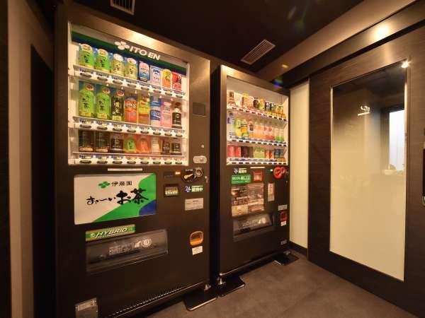 【1F自動販売機コーナー】アルコール類の販売は2Fのみとなります