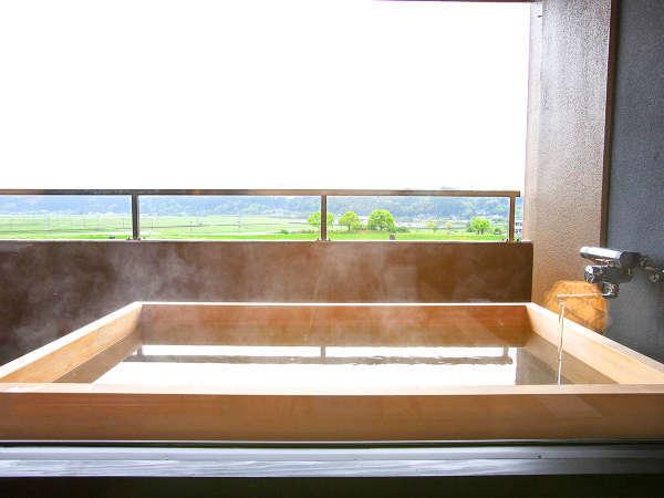 ◇最上階露天風呂付き特別室◇『菊池川』と『山鹿の街並み』を一望。