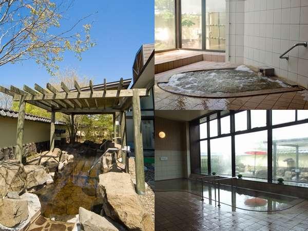 岩風呂・ジャグジー大浴場・サウナ・水風呂とご用意致してます。