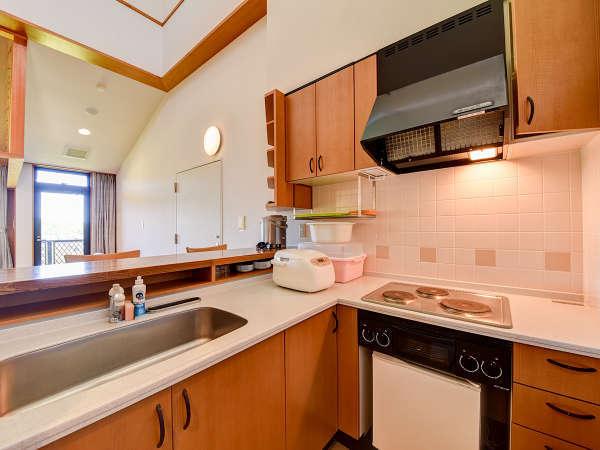 *【デラックス和洋室】簡易キッチン完備で自炊もOK