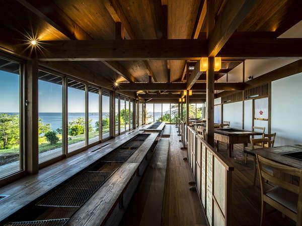 ≪椿茶屋リニューアル≫海を眺めながら囲炉裏を囲んでお食事をお愉しみください