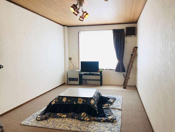 1階2階、和室タイプ客室例(1階と2階は部屋サイズが違います)