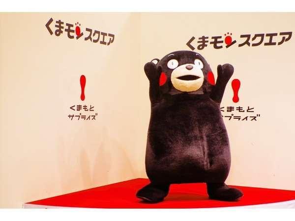 熊本の人気者!くまモンの拠点くまモンスクエアは当ホテルから徒歩2分です。