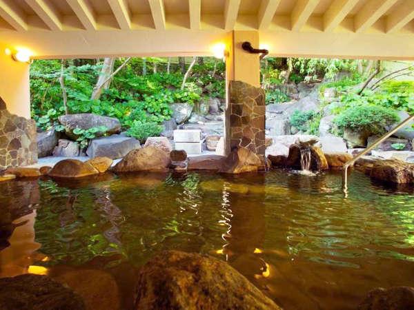 天然温泉を贅沢に使用した『瑞穂の湯』は、グランプご宿泊者様ならご利用いただけます♪