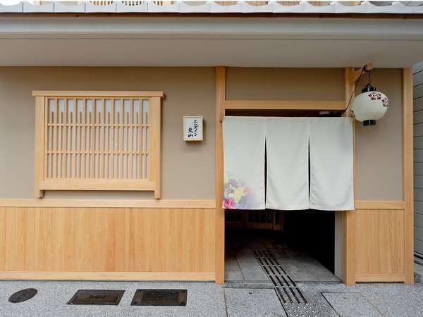 京都らしい和の門構え